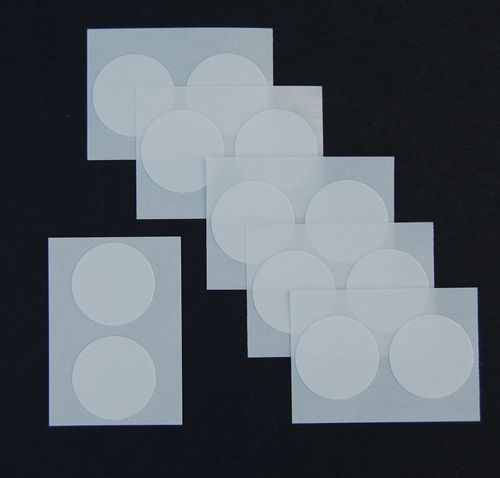 adhesive dots/Latex - white